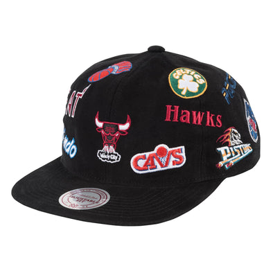 Mitchell & Ness All-Over Deadstock East Snapback Hat