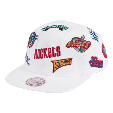 Mitchell & Ness All-Over Deadstock West Snapback Hat