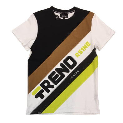 R.S.1NE Trend Tee (Black) - Fashion Landmarks