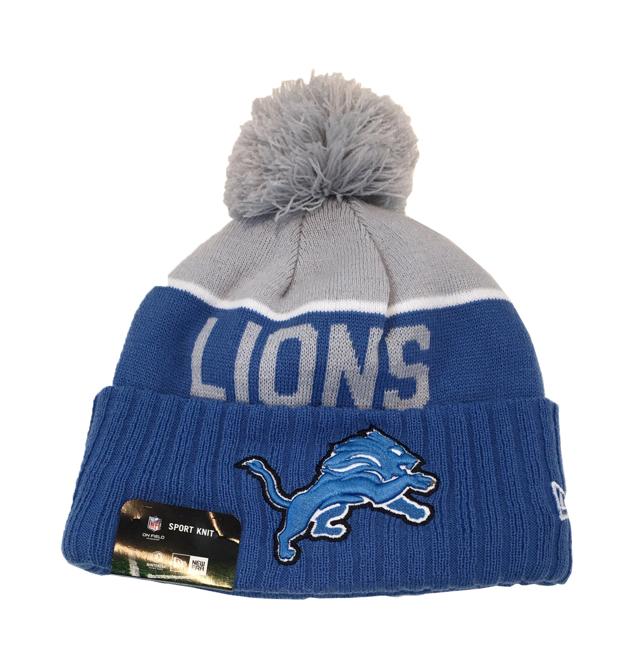 ... coupon new era nfl on field sport knit detroit lions beanie 482c2 f3949 13c289885