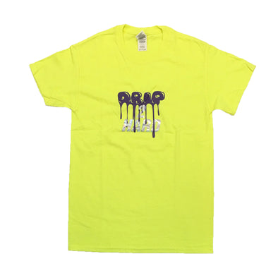 Superline Drip 2 Hard Tee (Neon Green/Purple)