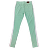 Royal Blue Single Strip Track Pant (Mint/White) - Fashion Landmarks