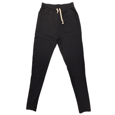 Huge Single Strip Track Pant (Black/Black) - Fashion Landmarks