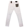 Copper Rivet Icon Jean (White) - Fashion Landmarks