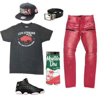Air Jordan 13 Playoff Outfit - Fashion Landmarks