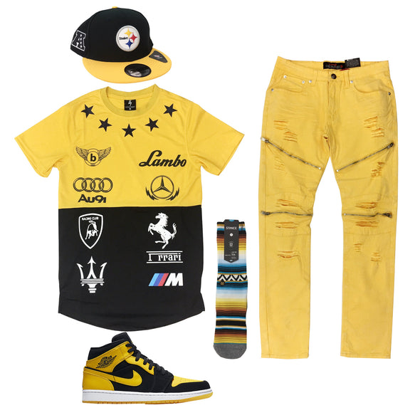 Air Jordan 1 Mid New Love Outfit - Fashion Landmarks