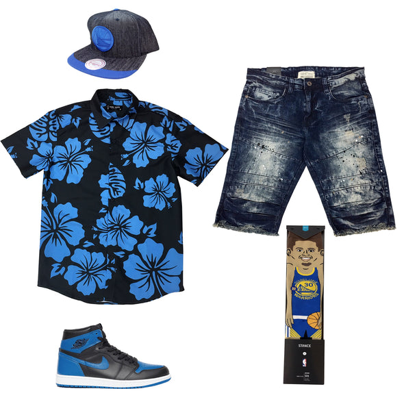 Air Jordan 1 Retro High OG Royal Outfit - Fashion Landmarks