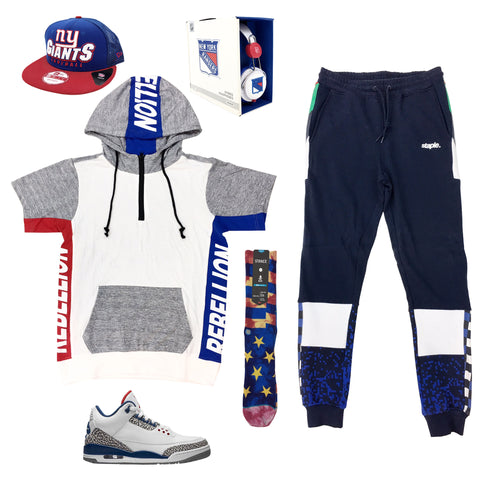 Air Jordan 3 OG True Blue Outfit - Fashion Landmarks