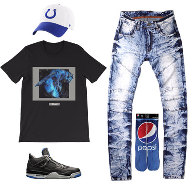Air Jordan 4 Retro Motorsports Outfit - Fashion Landmarks