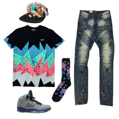 Air Jordan 5 Bel Air Outfit - Fashion Landmarks