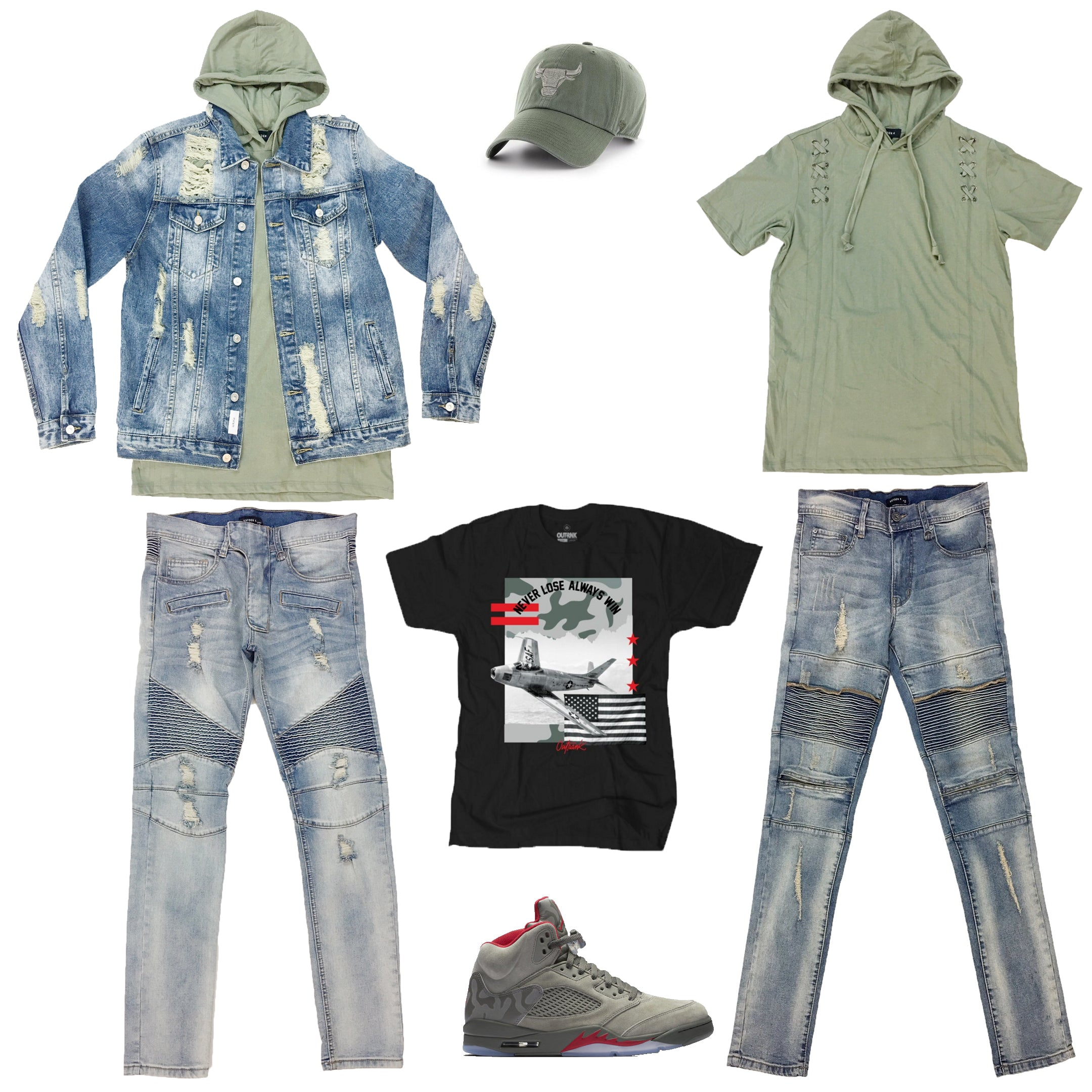 91b4d919a2a Air Jordan 5 Retro Camo Outfit19.99 USDHat,Jacket,Hoodie,Bottom