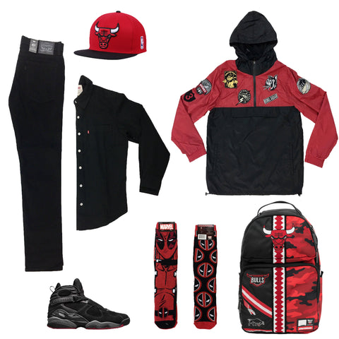 Air Jordan 8 Retro Cement Outfit