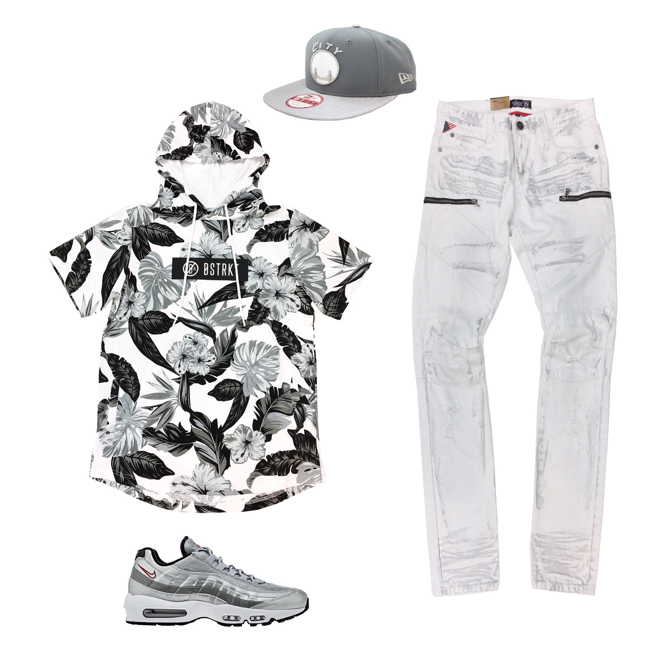 best service 6474e 5797e Nike Air Max 95 Silver Bullet Outfit