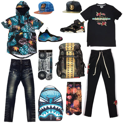 Nike Air Foamposite Big Bang & Air Jordan Retro 6 Chinese New Year Outfits