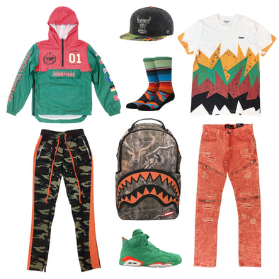 Air Jordan 6 Gatorade Outfit
