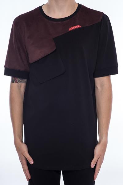 HUDSON ANGULAR T-SHIRT BLACK - Fashion Landmarks