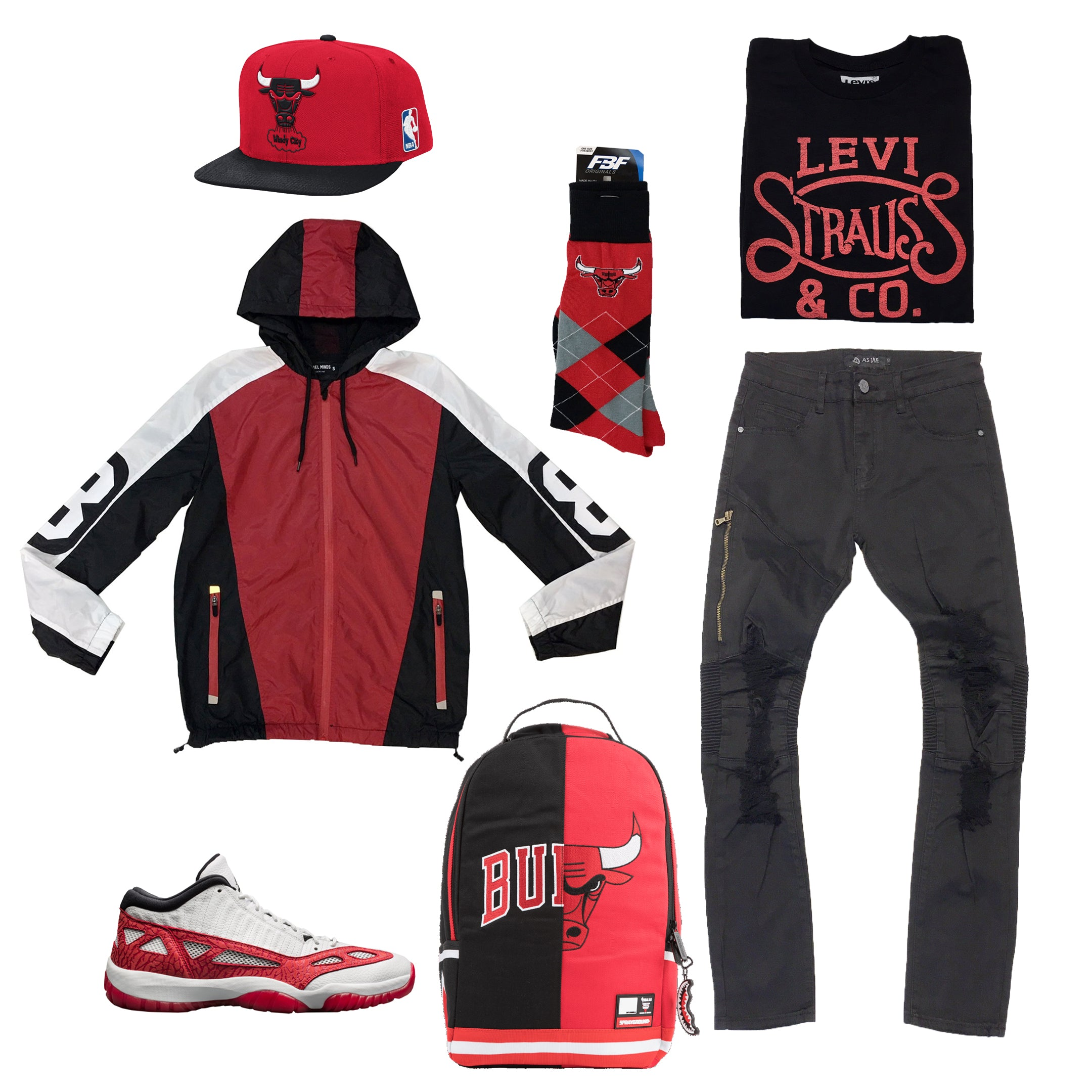 impactful red retro 11 outfits 2