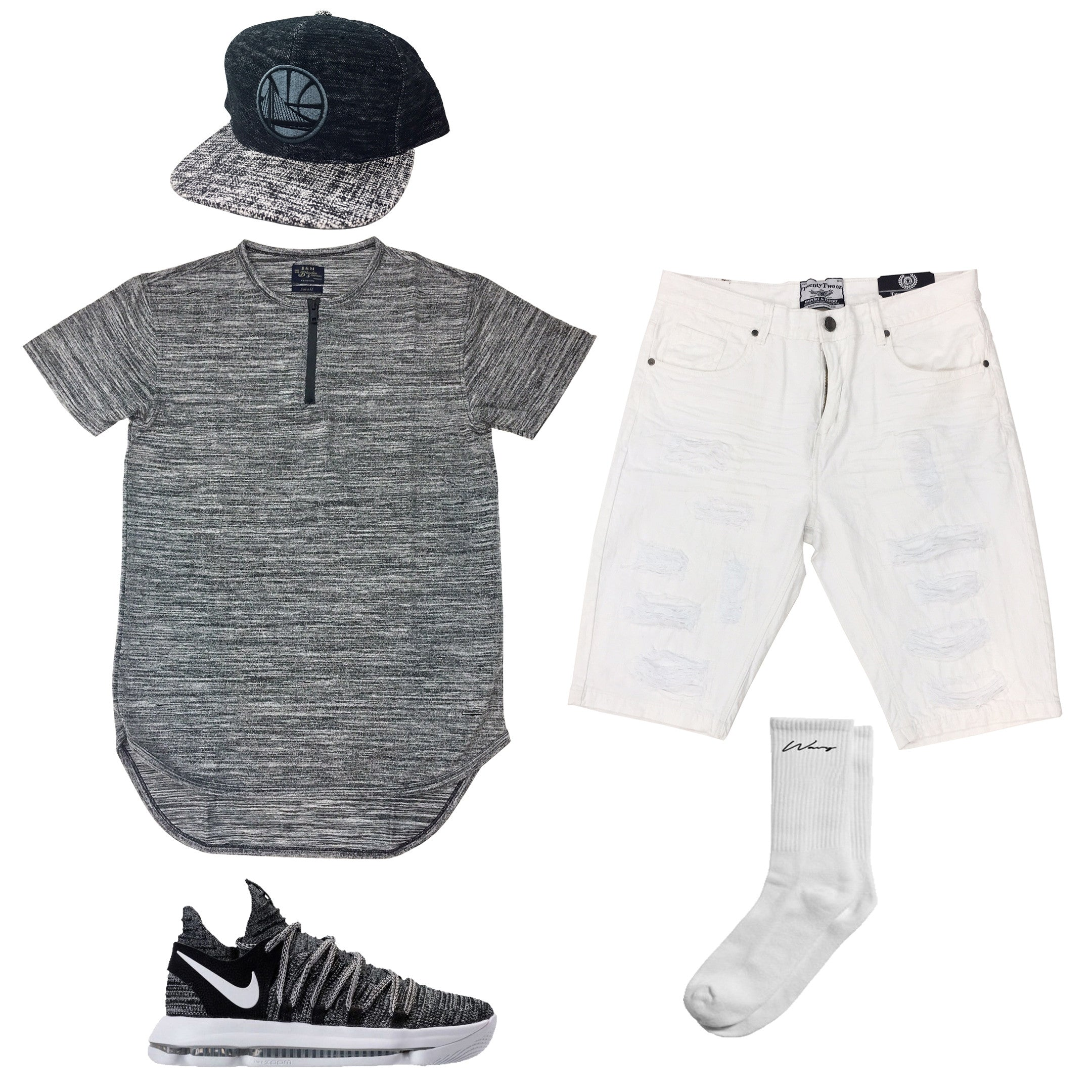 Nike Zoom KD 10 Oreo Outfit – UPSTREAMERS