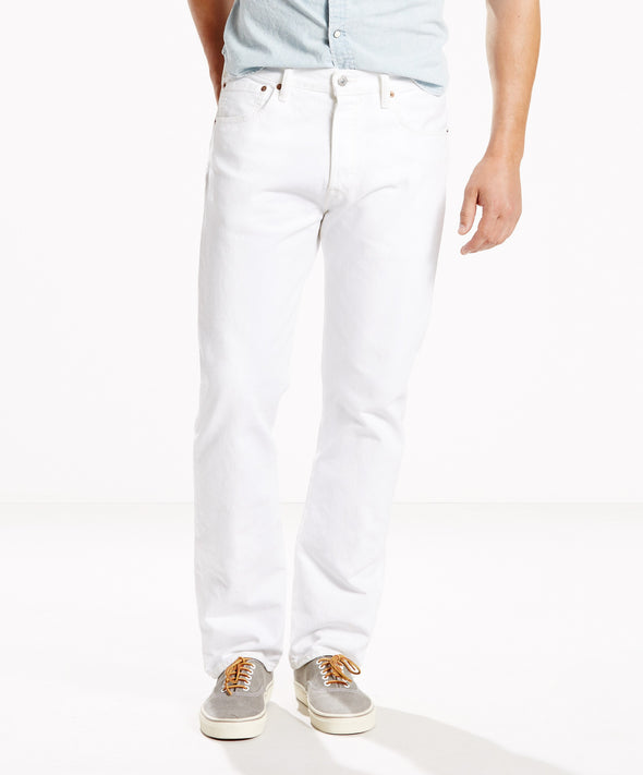 501 LEVIS ORIGINAL FIT OPTIC WHITE - Fashion Landmarks