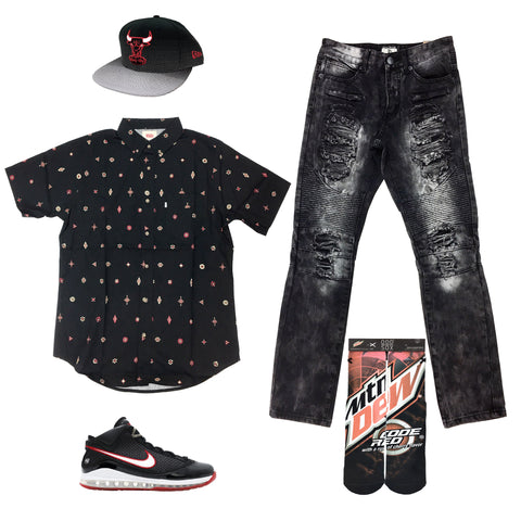 Nike Lebron 7 Heroes Pack Outfit