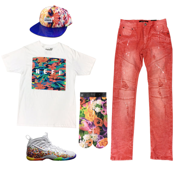 Nike Little Posite Pro Fruity Pebbles Outfit - Fashion Landmarks