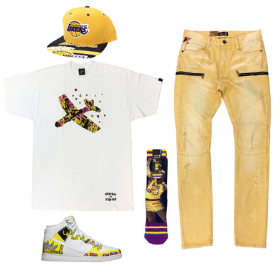Nike Dunk SB High De La Soul Outfit - Fashion Landmarks