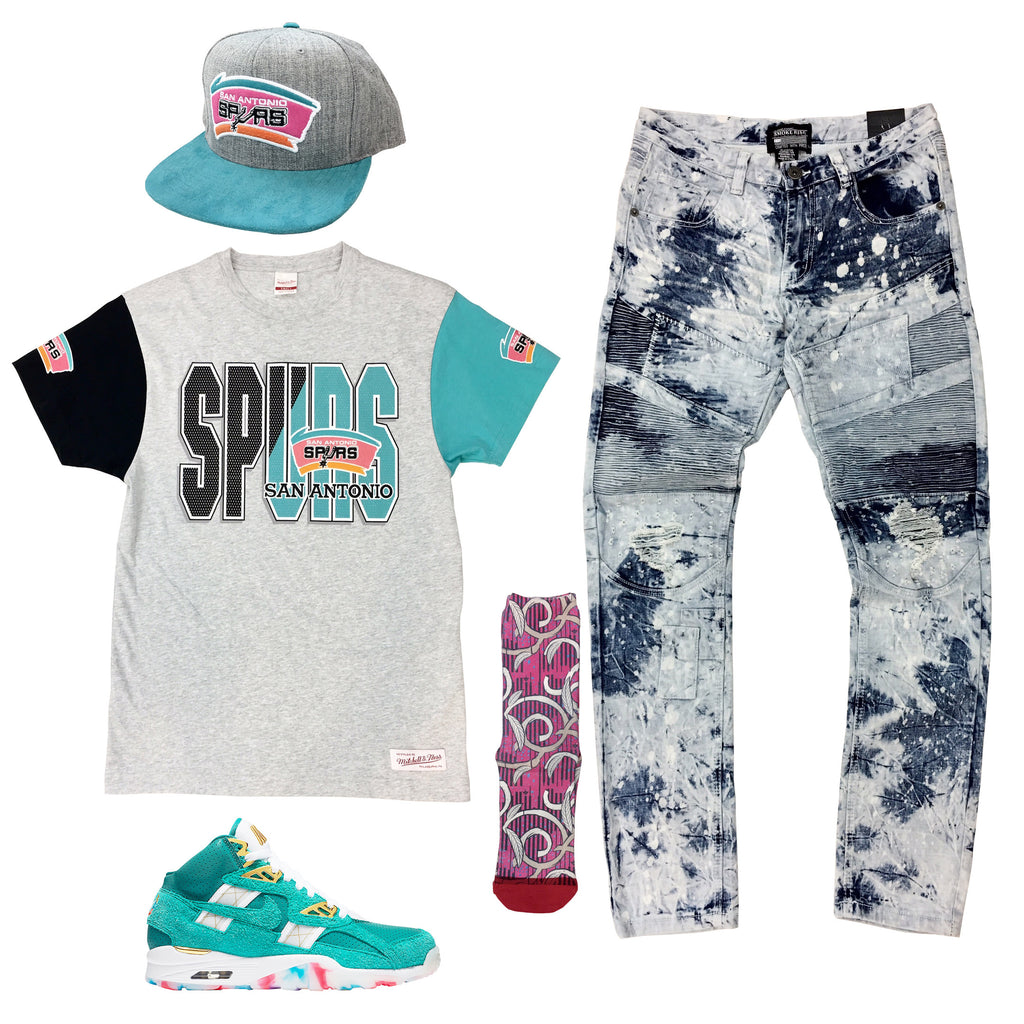 Nike Air Trainer SC High Atlanta Olympics Outfit