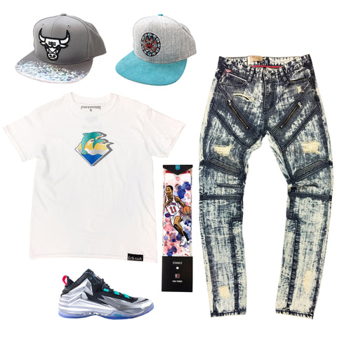 Nike Chuck Posite Metalic Silver Outfit