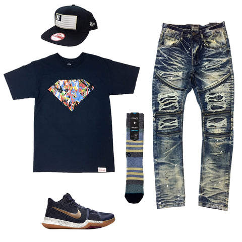 Nike KYRIE 3 Bright Lights Outfit - Fashion Landmarks