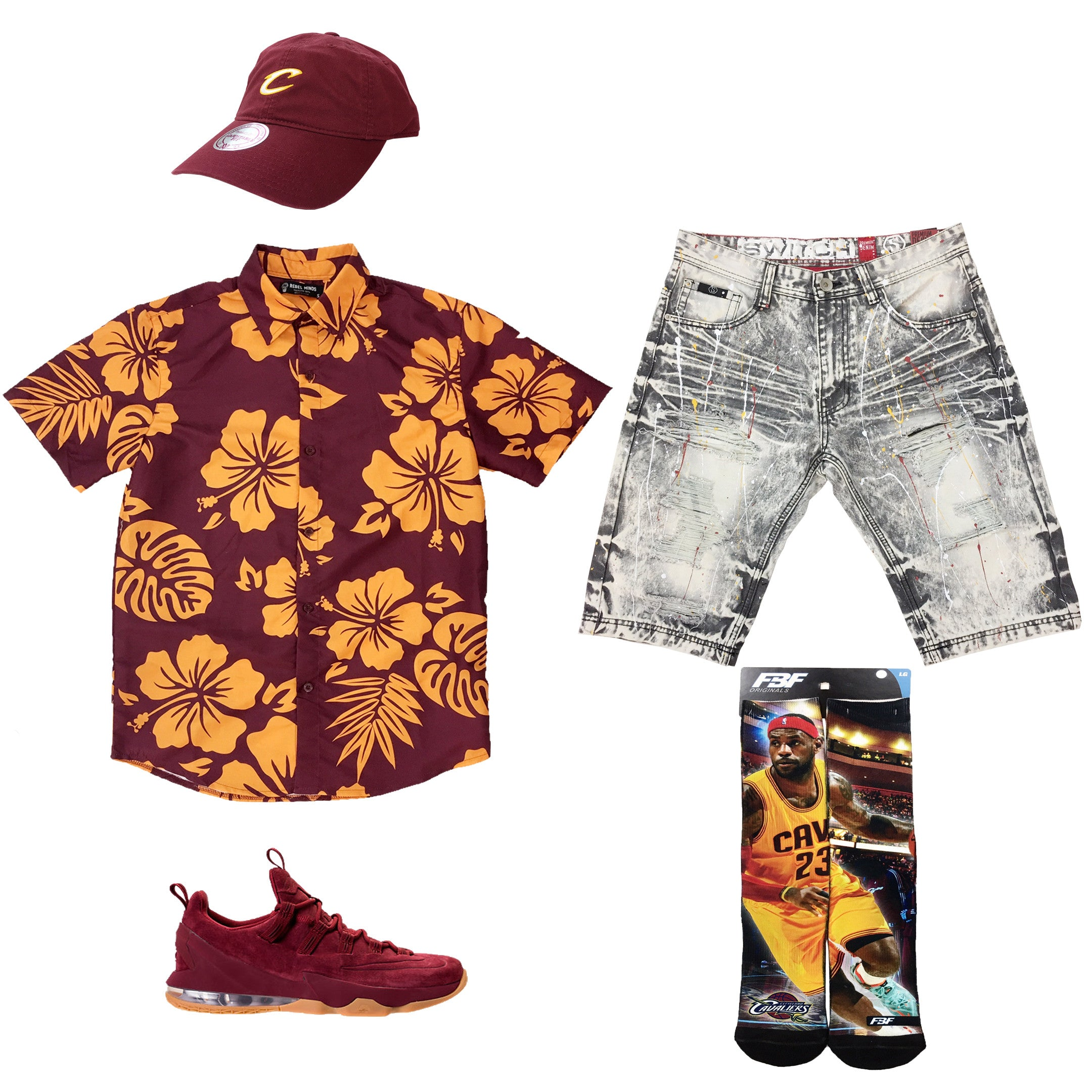 925b6d6b128 Nike Lebron 13 Low Outfit18.00 USDHat