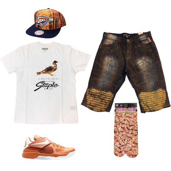 Nike Zoom KD 4 Texas Outfit - Fashion Landmarks