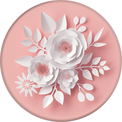 Paper Flower PopSockets - Fashion Landmarks