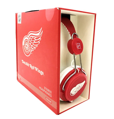 Coloud Detroit Red Wings Headphones - Fashion Landmarks