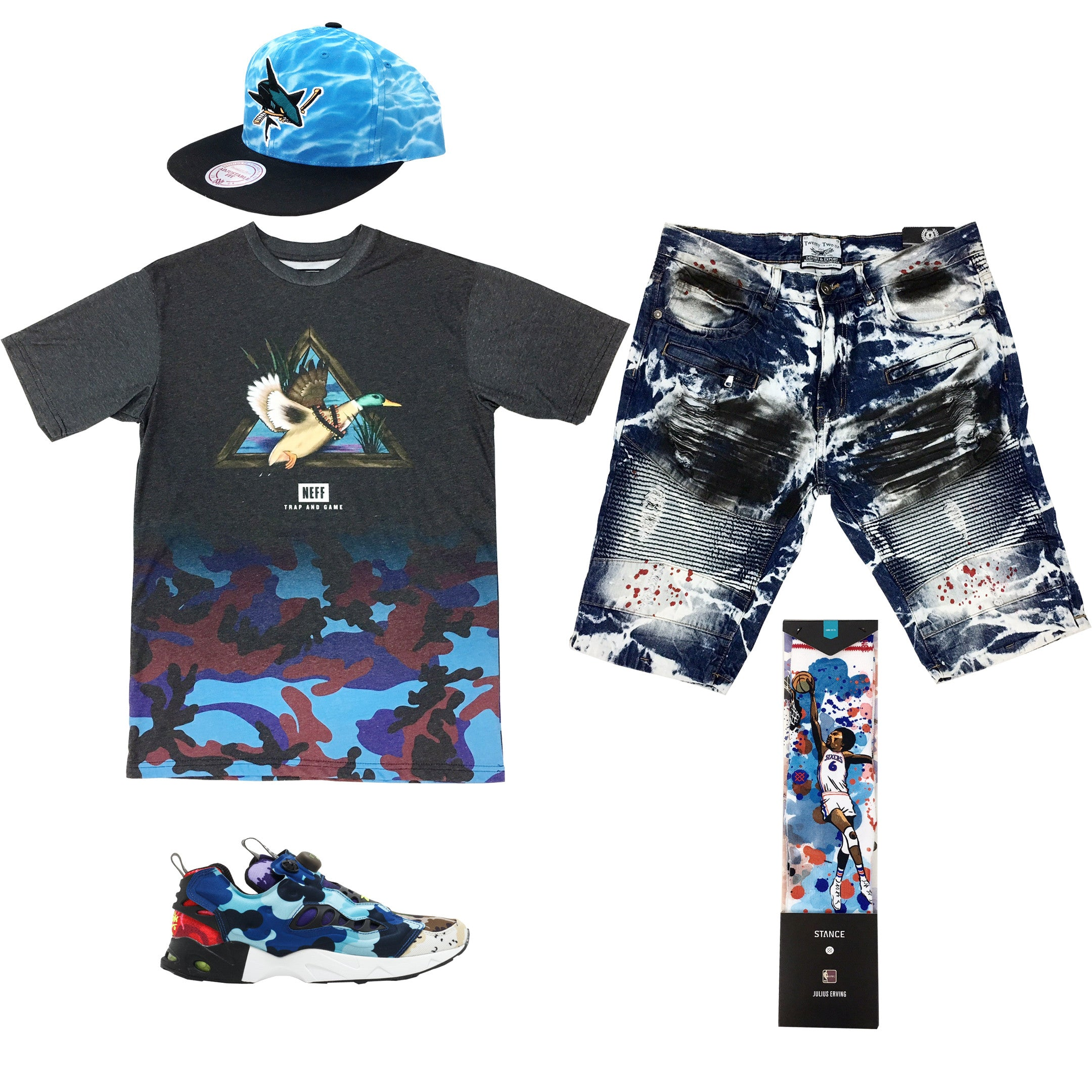 a5c5ab41a73 Reebok Instapump Fury Road Camo Outfit32.00 USDHat