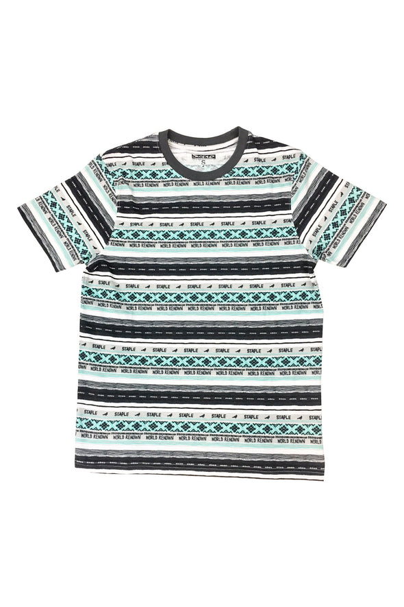 STAPLE PIGEON Tribe Stripe Tee - Fashion Landmarks