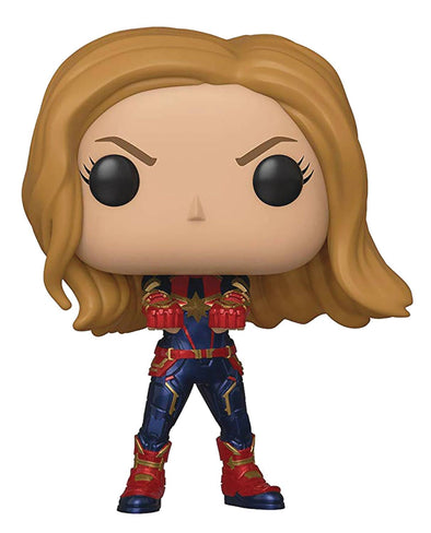 Avengers Endgame Captain Marvel Vinyl Figure - Fashion Landmarks