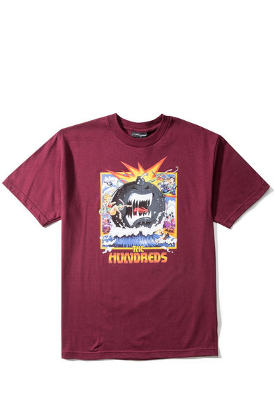 THE HUNDREDS Dixon T-shirt (Burgundy)