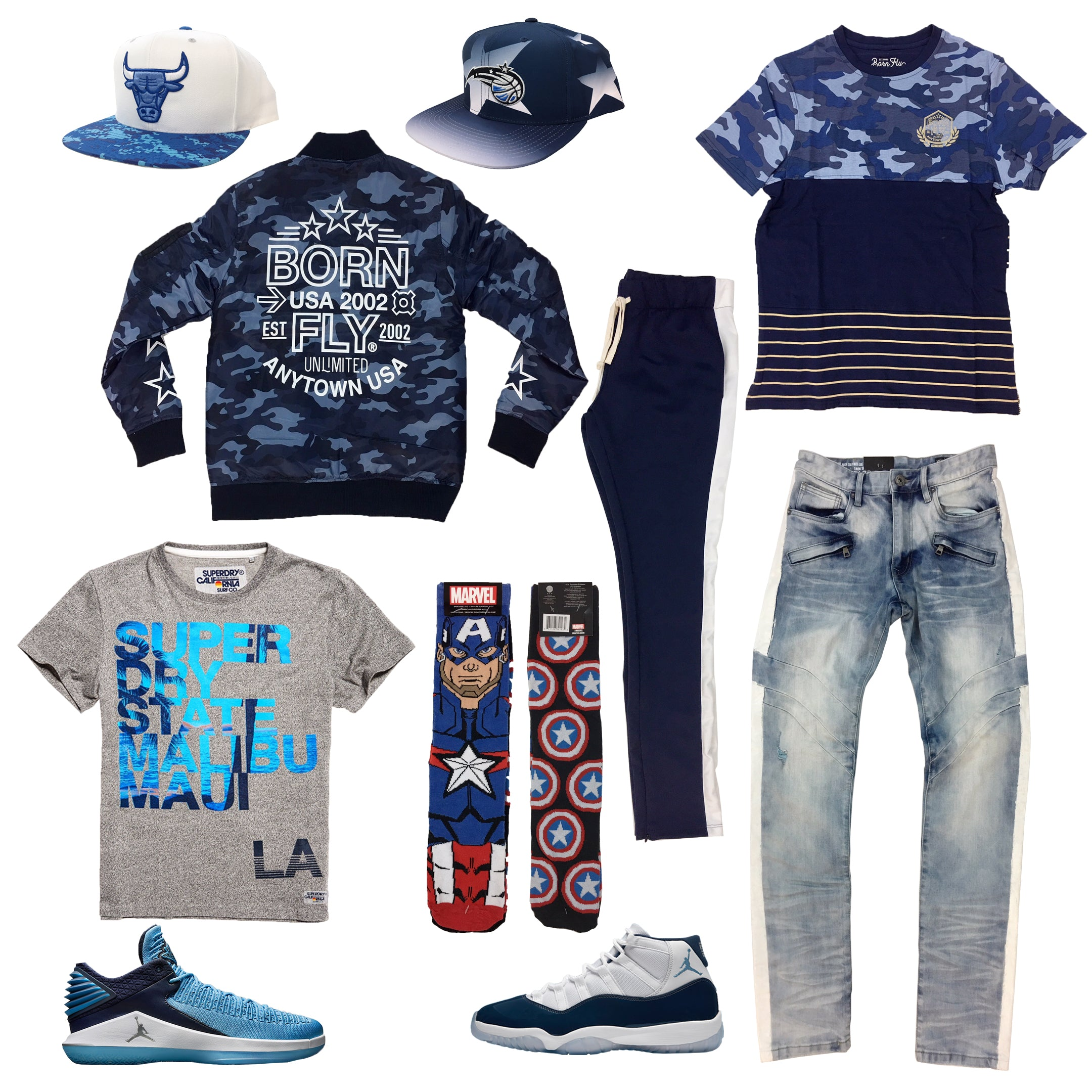 3733bcba067 Air Jordan 11 & 32 Low Win like 82 Outfit20.00 USDHat (Magic),Tee ...
