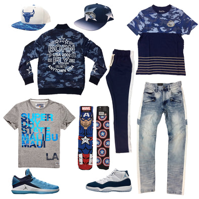 Air Jordan 11 & 32 Low Win like 82 Outfit - Fashion Landmarks