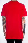 BLACK PYRAMID LARGE PIZZA TEE RED - Fashion Landmarks