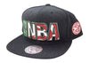 Mitchell & Ness Atlanta Hawks Snapback Hat - Fashion Landmarks