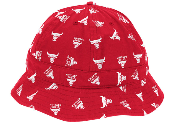 Mitchell & Ness All Over Print Bell Bucket Chicago Bulls - Fashion Landmarks