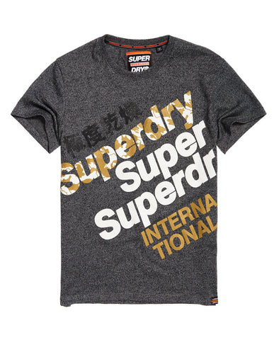 Superdry International Monochrome T-Shirt - Fashion Landmarks