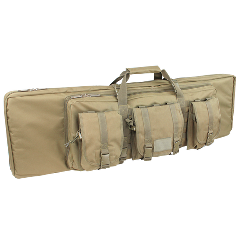 "Condor MOLLE 46"" Double Rifle Case - OPSGEAR - 1"