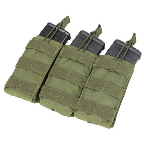 Condor MOLLE Open M4 Triple Mag Pouch - OPSGEAR - 1