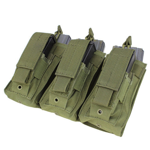 Condor MOLLE Triple Kangaroo Mag Pouch - OPSGEAR - 1