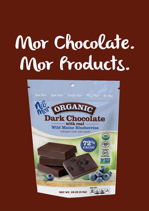 Mor Chocolate. Gluten-Free. Mor Product.