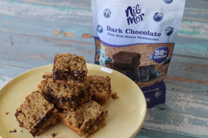 Wild Maine Blueberry Oat Bars