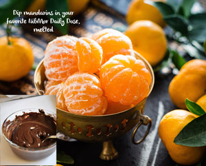Mandarin Oranges with NibMor Chocolate