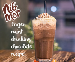 Frozen Mint Drinking Chocolate Recipe